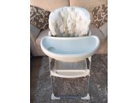 Multiposition high chair from Mothercare