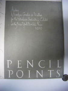 pencil points magazine sept.1938 NYworldsFair architect