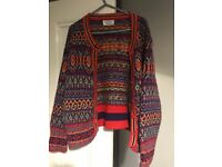 United Colours of Benniton Vintage Cardigan size 10