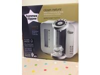 Brand New,Sealed Tommee Tippee Closer To Nature Perfect Prep Machine