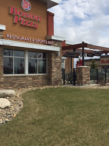 Boston Pizza Franchise for Sale- Melfort Sask.