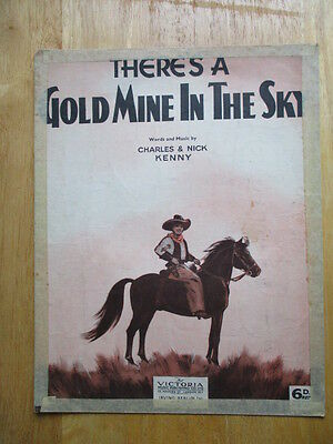 There's a Gold Mine in the Sky (sheet music)