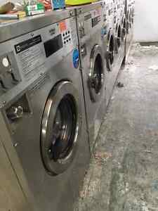 Commercial Washer and Dryer Coin Operated