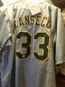 Fathers Day! Jose Canseco Signed A's Jersey