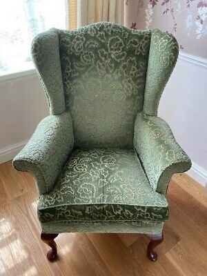 High back winged Parker Knoll? Armchair