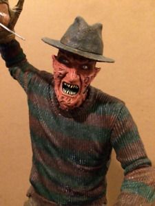 COMPLETE 18'' FREDDY KRUEGER MOTION ACTIVATED FIGURE BY NECA