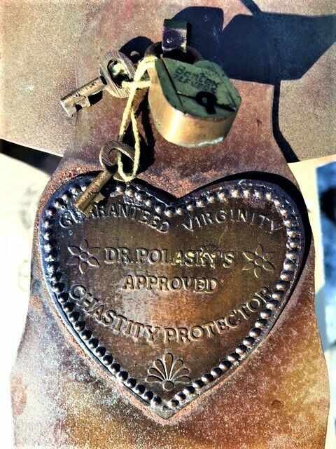 Vintage Dr. Polasky's Approved Chastity Protector Belt Virginity Reproduction