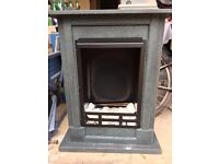 Gel + Ethanol Fireplace Madrid Deluxe (barely used) + 14 bottles of fuel