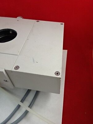 Polyvar Reichert Leica Head With Cables Microscope Optics As Pictured V1-b-01