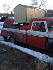 1964 FORD HALF TON BODY CUSTOM CAB VERY GOOD