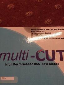 SAW BLADE --MULTICUT HIGH PERFORMANCE HSS SAW BLADE