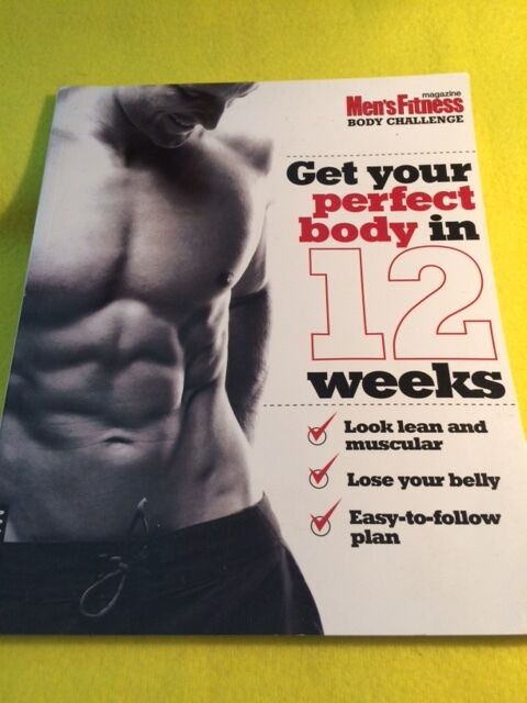 Men's Fitness Body Challenge Peter Muir Get Your Perfect Body in 12 Weeks