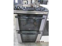 *+ZANUSSI BLACK/CHROME/*Free Delivery*60 CMS WIDE CERAMIC TOP ELECTRIC COOKER/FULLY SERVICE/VERY CLE