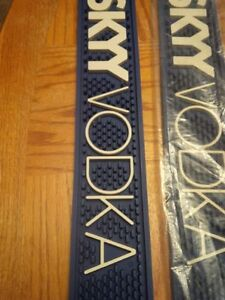 2 Sky Vodka Bar Mats! Brand New