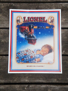 Lionel Train Tin Sign
