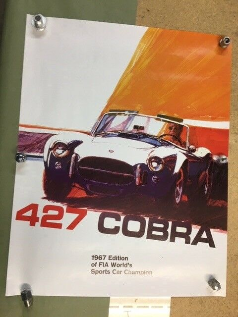 427 Cobra FIA Poster 67 edition
