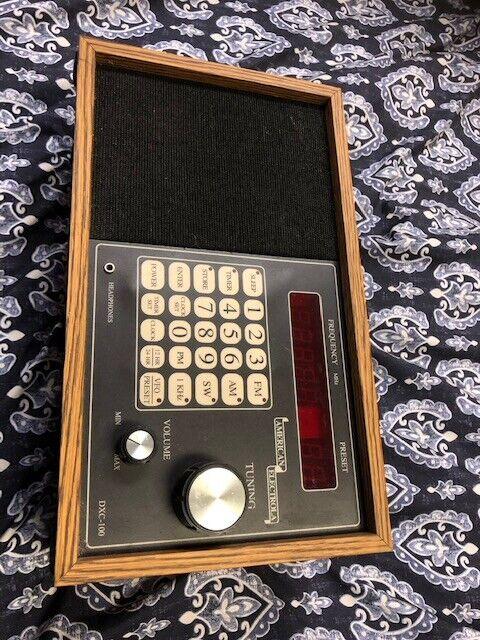 American Electrola DXC-100 Shortwave / AM / FM Radio Receiver USA