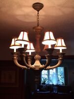 Beautiful chandelier from The Bombay Company