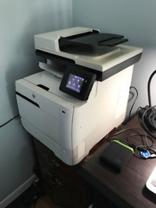 HP Color Laser jet map 400 series printer for sale model dn475