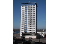 1 Bedroom Flat, 14th Floor - Tavy House, Duke Street, Mount Wise, Plymouth, PL1 4HL