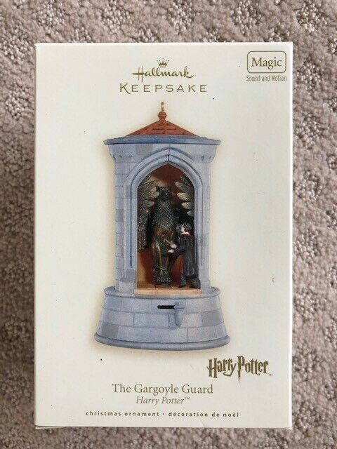 "Harry Potter ""The Gargoyle Guard"" Hallmark Keepsake Ornament"