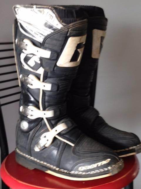 Gaerne Motor Cross Boots Size 9 5 Motorcycle Amp Scooter
