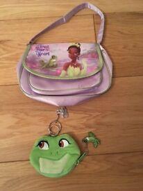 Disney Princess Ariel handbag and Disney Princess - Princess & the Frog hand bag & purse