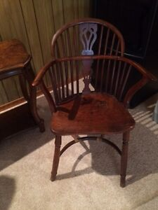 Chair older solid wood