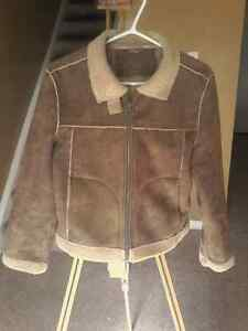 ROXY Sherpa leather jacket London Ontario image 4