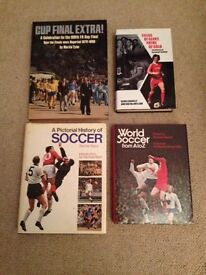 Football reference books x 4