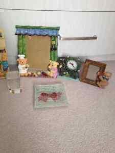 Cadre et decorations