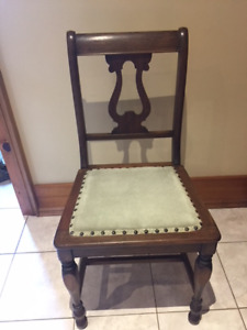 (2) Chairs & (1) Rocking Chair