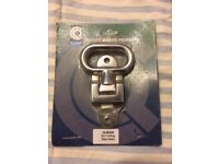 C-Quip 10-86020 - Folding Chrome Boat Step (suitable for most boats)