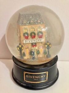 Vintage 1999 Limited Edition Givenchy Snow Globe Best Offer