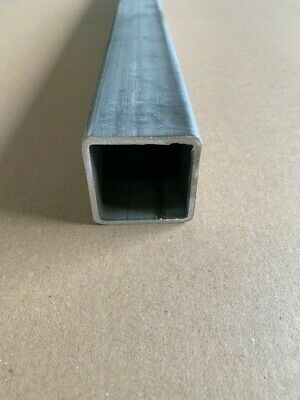 Stainless Steel Square Tube 2 X 2 X 24 Long X 18 Wall 0.125