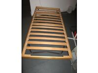 Single Bed Frame with folding legs .