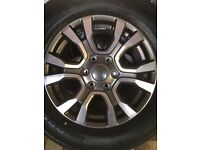 "18"" Ford Wildtrak Alloys"