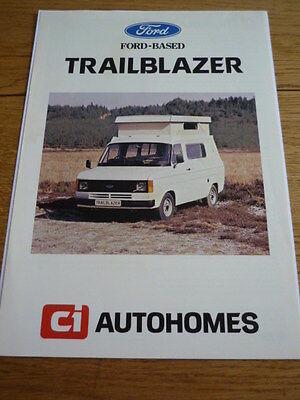 Ford Transit Ci Autohome Caravanette  Brochure Jm
