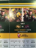 EDMONTON ESKIMOS vs MONTREAL Sunday November 1st 2 Great Seats!
