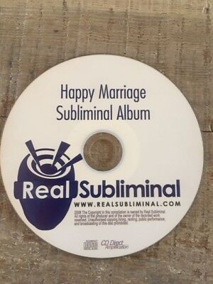 Subliminal Relationship Help Series Happy Marriage easy  audio CD new couples