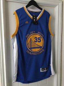 Brand New Golden State Warriors NBA Jersey Kevin Durant Champs