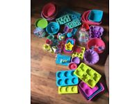 Silicone Cookware Giant Set plus 40 magazines, Only £25!
