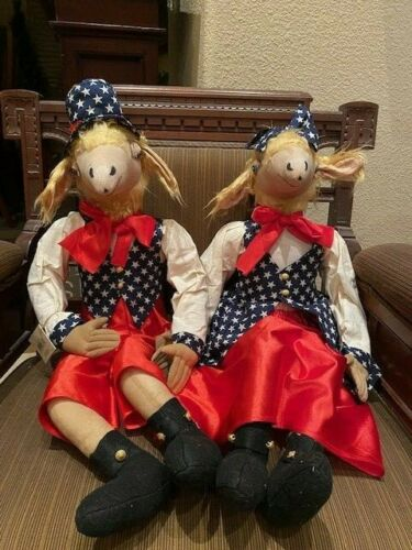 Joe Spencer Gathered Traditions Gordon & Gussie Sheep Couple - New for 2021