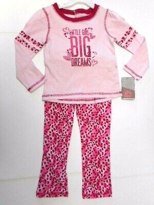 Girls outfits Clothes Big Dreams Pajamas Pants Shirts Tops 2 Pc Set 24 - Cutie Pie Top Shirt