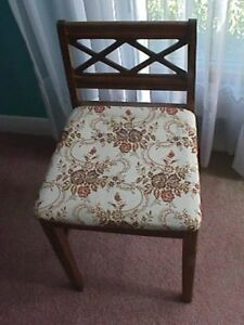 1940s Telephone Table Chair - Reconditioned to mint original