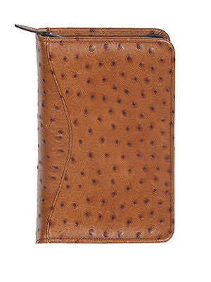 Scully Leather Zip Weekly Organizer Antique Brown 8002Z-0-50-F - Leather Zip Weekly Organizer