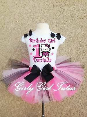 t Birthday Tutu Outfit Party Dress Set online Hello Kitty (Hello Kitty Tutu-outfit)