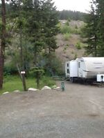 Okanagan fully serviced 1/4 lot rental