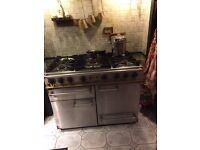 Falcon Double Oven 5 hob Gas cooker