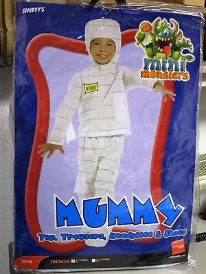Größe S Karneval Mummy mini monster Halloween 36170 (Halloween Mumie Kostüm)